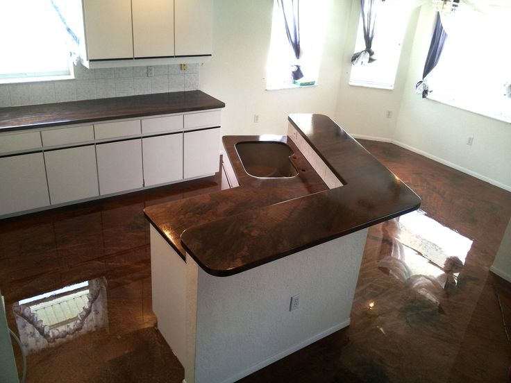 With Countertop Epoxy Products You Can Customize Your Kitchen From Top To Bottom