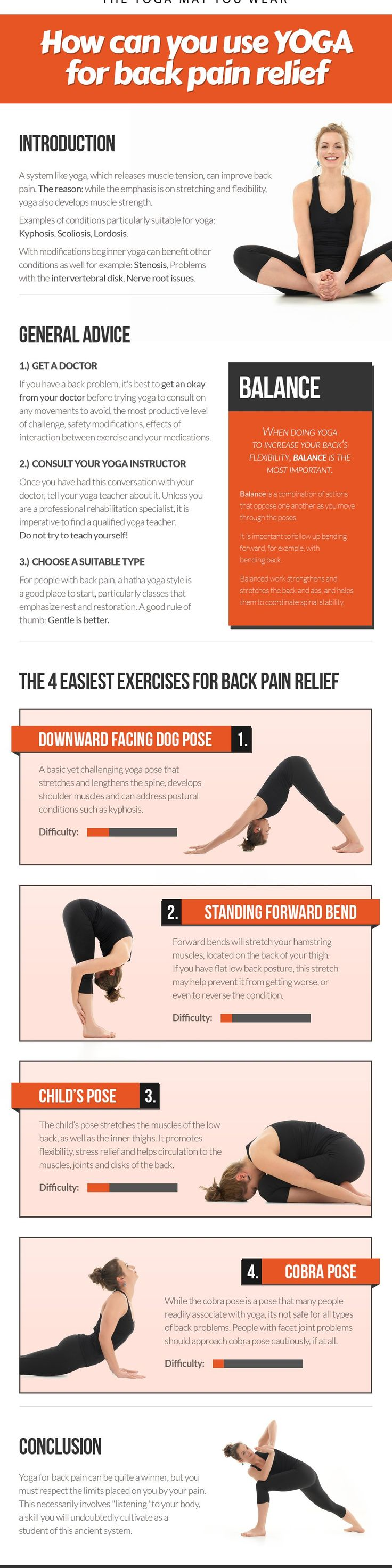 Yoga for back pain relief>>>>> just what I need after standing all day at my new job. Definitely not used to it yet.
