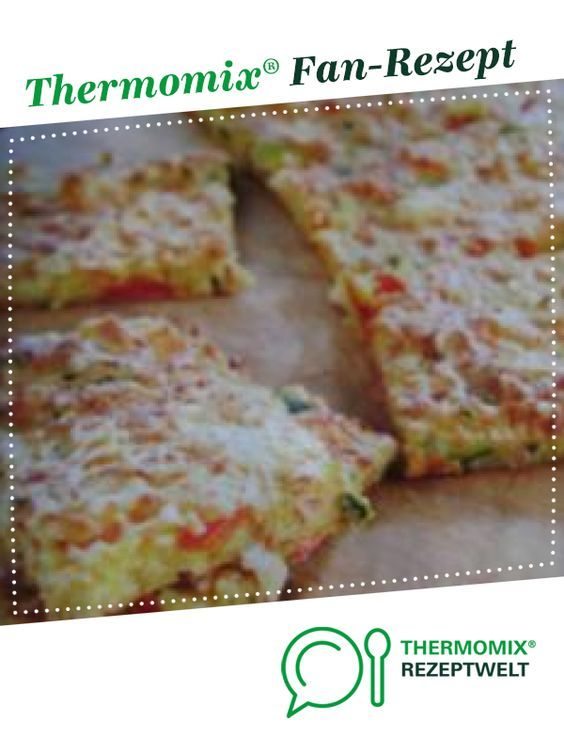 Quick vegetable cake   – Thermomix