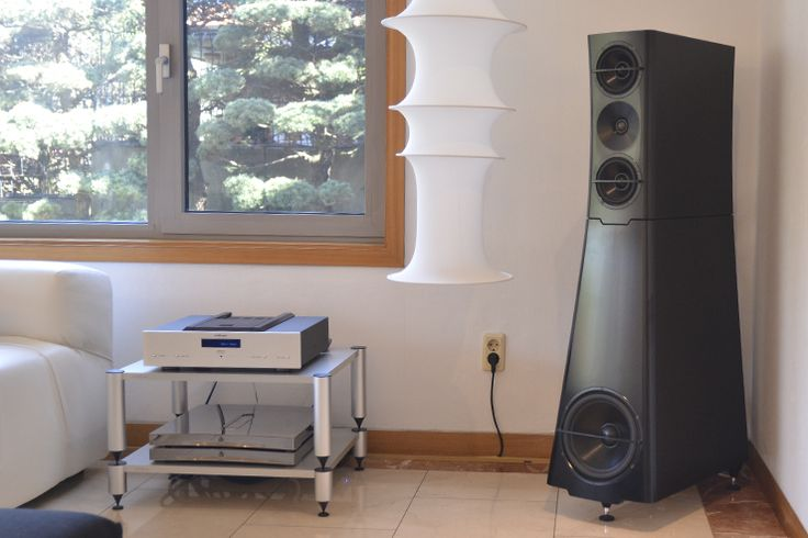 YG Acoustics Sonja 1.2 with Audionet ART G3 and Devialet 800