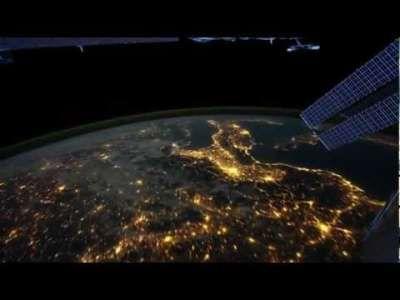 Lapso de tiempo de imágenes de la Tierra  #AuroraAustralis #australia #EditorDavidPeterson #Europa #EuropaOccidental #ISS #NASA #Planeta #PlanetaTierra #Time-lapse