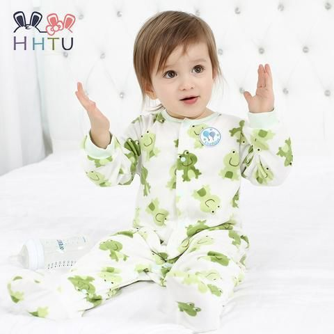 71adf49c6 HHTU Baby Rompers Clothes Long Sleeved Coveralls for Newborns Boy ...
