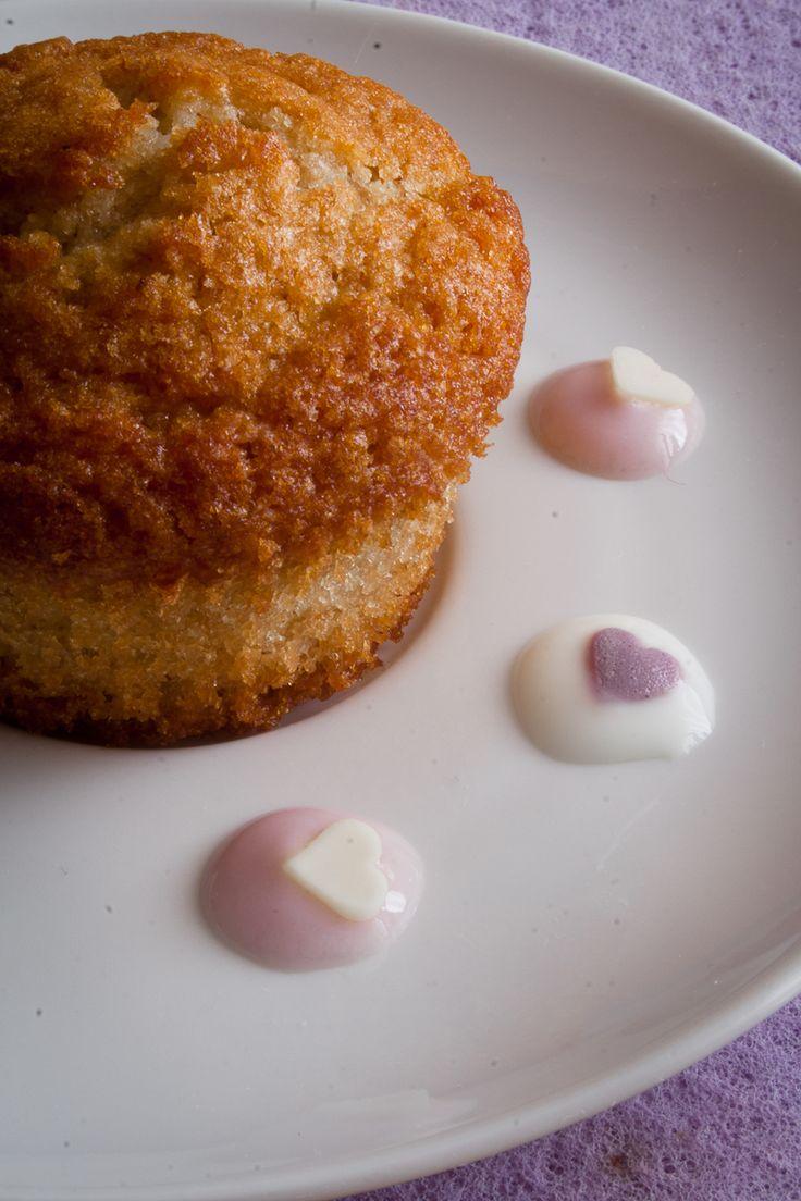 Muffins integrali allo yogurt ai frutti di bosco