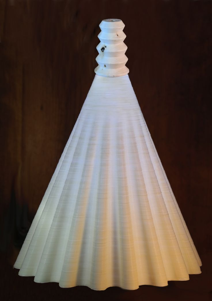 Pavo 3D Printed Pedestal Light Fitting