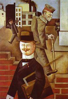 George Grosz: Día gris, 1921