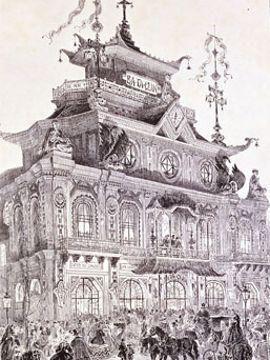 Le Bataclan en 1865 : la «salle la plus féérique du Paris nouveau»