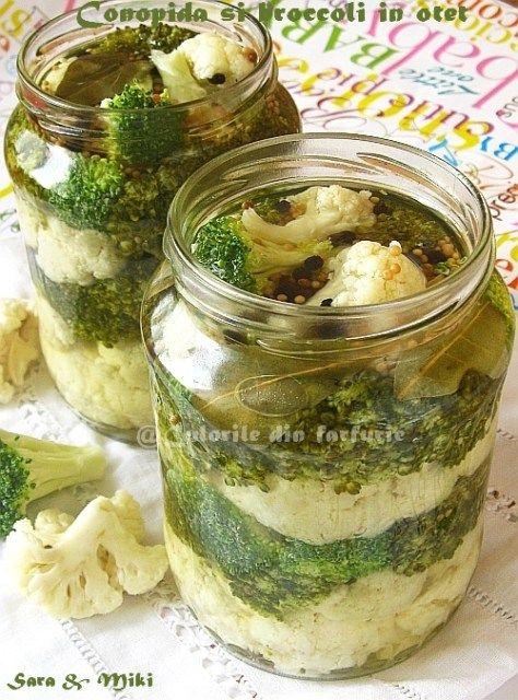 » Conopida si broccoli in otetCulorile din Farfurie