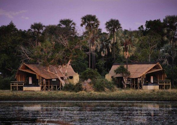 Die neugestaltete Belmond Eagle Island Lodge auf Xaxaba Island im Norden Botswanas ist ein Hotspot für Wasser-Safaris.