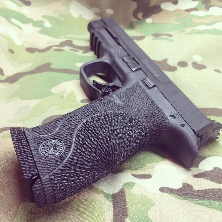 Damato Custom Stippling and Cerakote MP Glock Grip | #Stippling