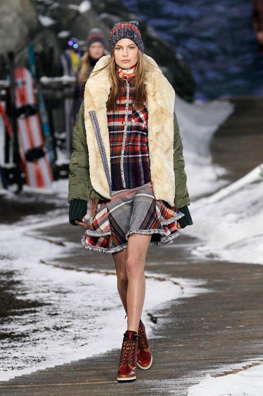 FALL '14 RUNWAY COLLECTION: Coming to you live from New York Fashion Week.