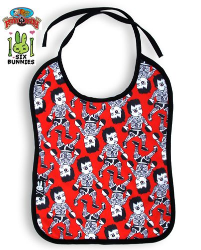 Kid Slug Bib by Six Bunnies