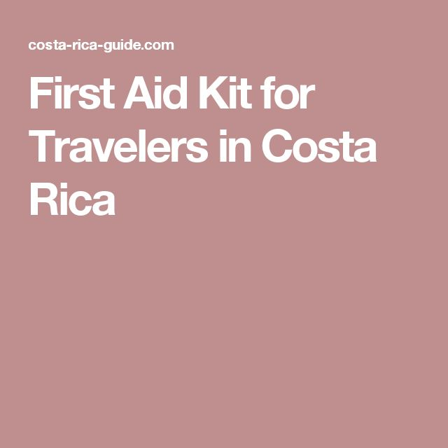 First Aid Kit for Travelers in Costa Rica  ✈✈✈ Here is your chance to win a Free Roundtrip Ticket to anywhere in the world **GIVEAWAY** ✈✈✈ https://thedecisionmoment.com/free-roundtrip-tickets-giveaway/