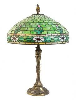 * Wilkinson Company, USA, EARLY 20TH CENTURY, a leaded glass lamp