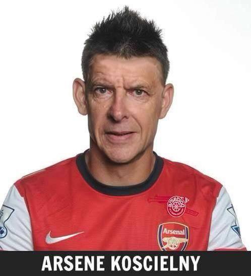 Połączenie obrońcy Arsenalu Londyn i Arsene'a Wengera • Laurent Koscielny z twarzą swojego managera • Zobacz śmieszny obrazek >> #wenger #arsenal #football #soccer #sports #pilkanozna #funny #memes