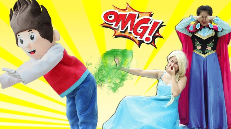 PAW Patrol Full Episodes Superheroes,PAW Patrol Ryder Elsa Anna Baby Lea...