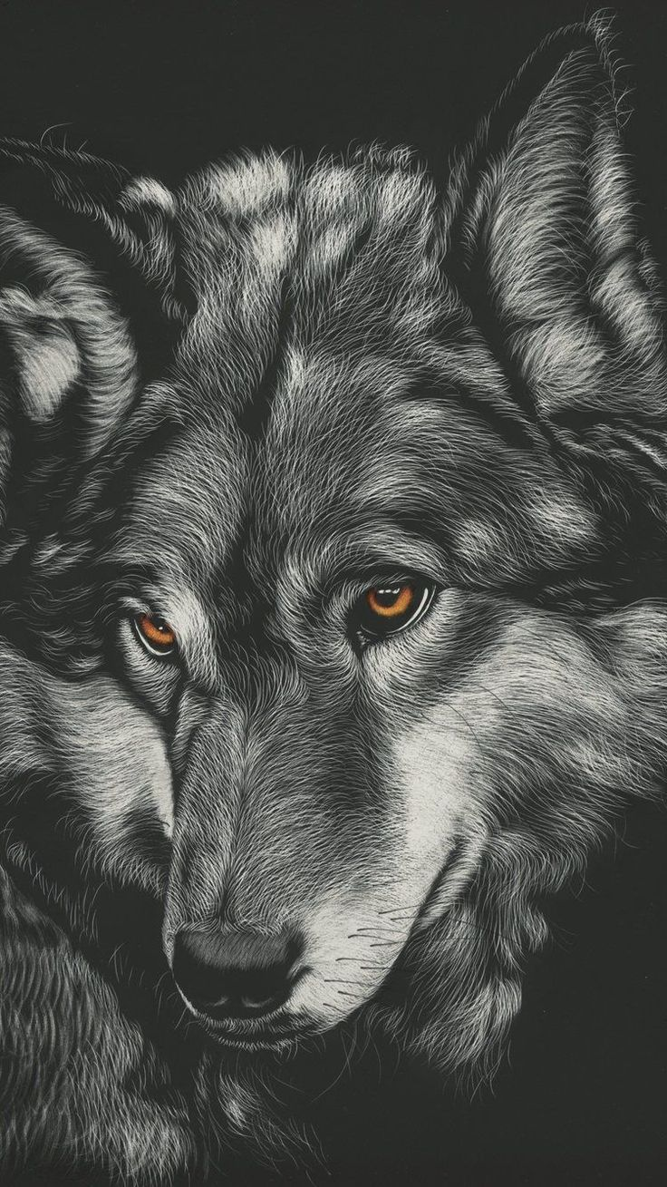 750x1334 750x1334 Wolf Painting 4k iPhone 6, iPhone 6S