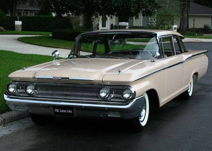 1960 Mercury Monterey Maintenance/restoration of old/vintage vehicles: the material for new cogs/casters/gears/pads could be cast polyamide which I (Cast polyamide) can produce. My contact: tatjana.alic@windowslive.com