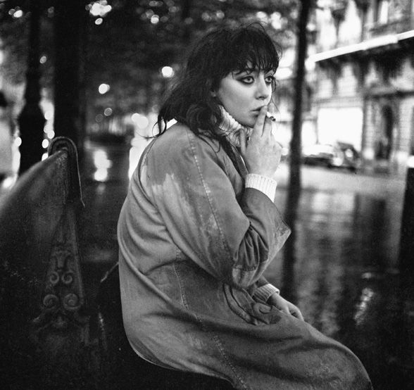 A young Vali Myers living on the streets of Paris' left bank. This pic is from Ed Van der Elsken 'Love on the Left Bank' series 1954