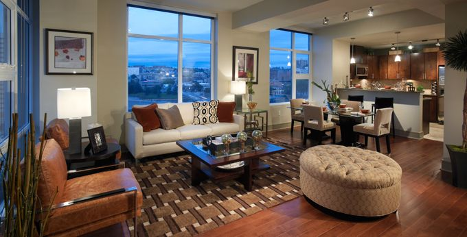 10 best images about luxury apartment decorating ideas on for The olivian apartments