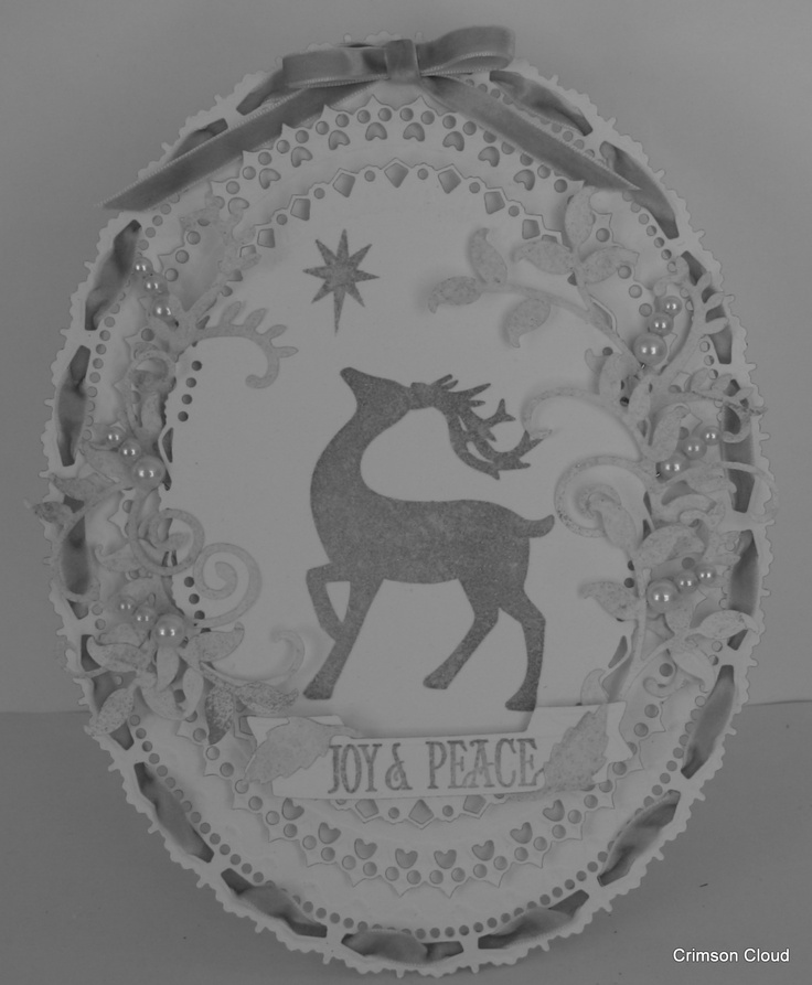 Stag Stamp by Crimson Cloud