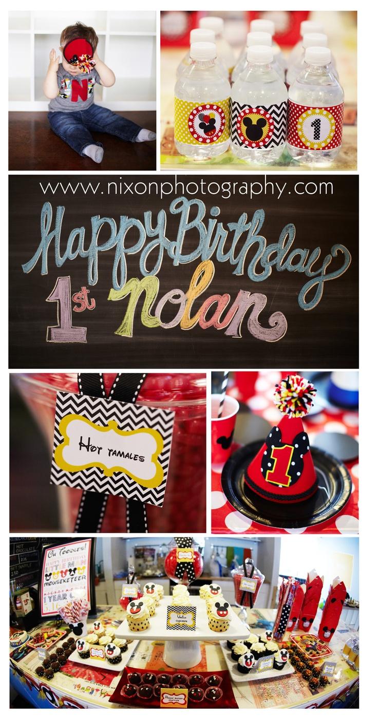 Decorating Ideas > 17 Best Images About Bryson Birthday On Pinterest  Mickey  ~ 215317_Birthday Party Ideas Cincinnati
