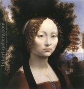 Portrait of Ginevra de Benci  by Leonardo Da Vinci