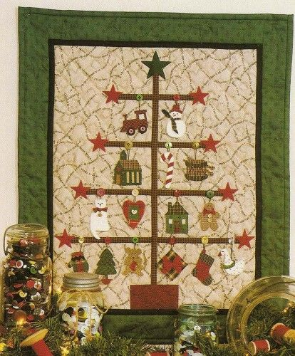 315 best Navidad patchwork images on Pinterest | Patterns, DIY and ... : christmas quilt projects small - Adamdwight.com