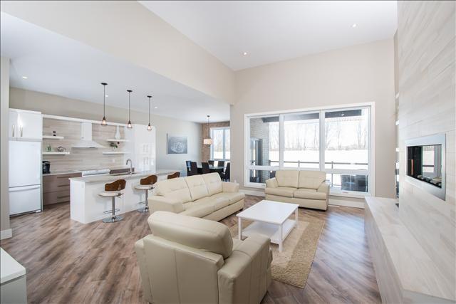 Open-Concept Living Room / Kitchen