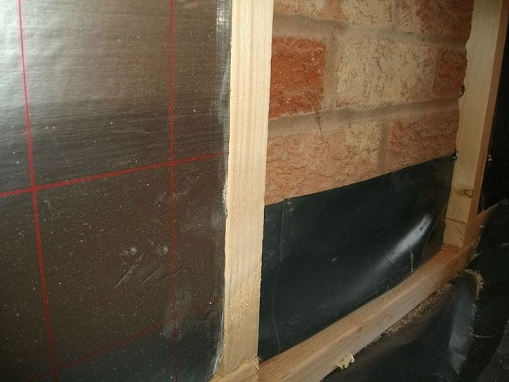 More damp proof course and insulation