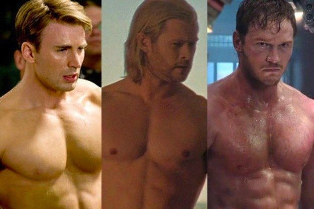 Which Marvel Chris Is The Chris for You? (I've always been a Chris Evans fan, ever since he played the Human Torch in the original Fantastic Four)