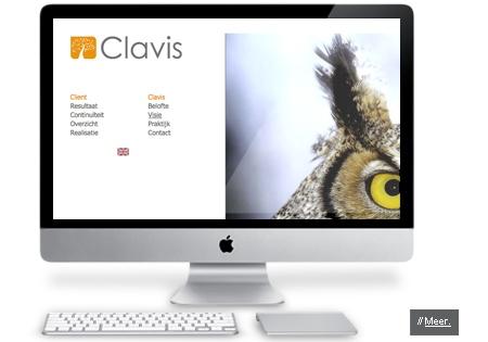 Communicatieconcept en huisstijl van Clavis