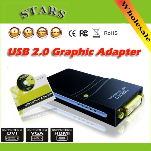 Wholesale freedrop shipping usb 20 to dvihdmivga2048x1152 wholesale freedrop shipping usb 20 to dvihdmivga2048x115217d1 graphics multi display adapter converter external video card pinterest cable sciox Choice Image