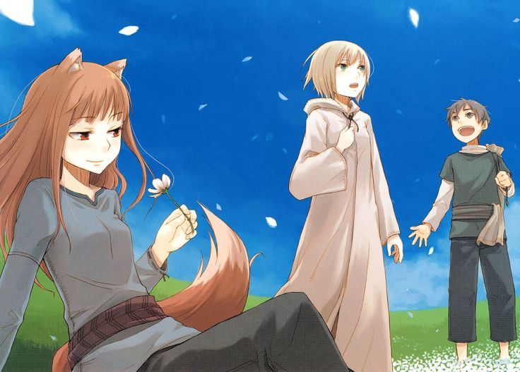 Anime Spice And Wolf Wallpaper
