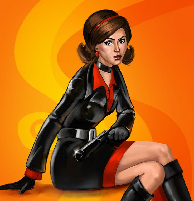 Cate Archer from No One Lives Forever by ebagg.deviantart.com on @DeviantArt