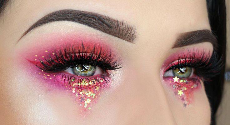 Colourful festival eyes ✨