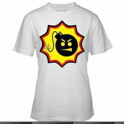 SERIOUS SAM BFE Logo Stone Doom Quake Xbox PS2 PC Game Double D Women White T-Shirt Size S to 3XL
