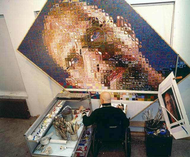 Chuck Close Making $ 1 Million Murals For The Second Avenue Subway