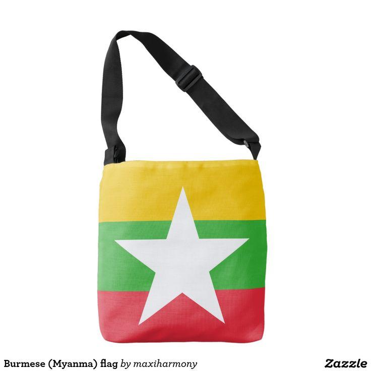 Burmese (Myanma) flag Tote Bag