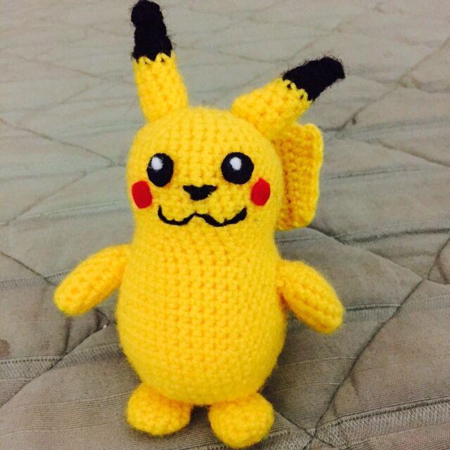 Pikachu para Emi  #amigurumi #pokemon #pikachu #crochet