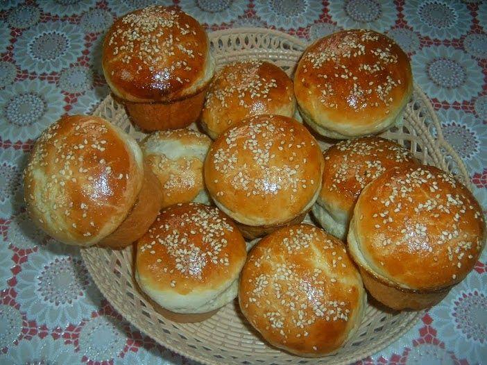 Rozi erdélyi,székely konyhája: Zsemle,muffin formában sütve
