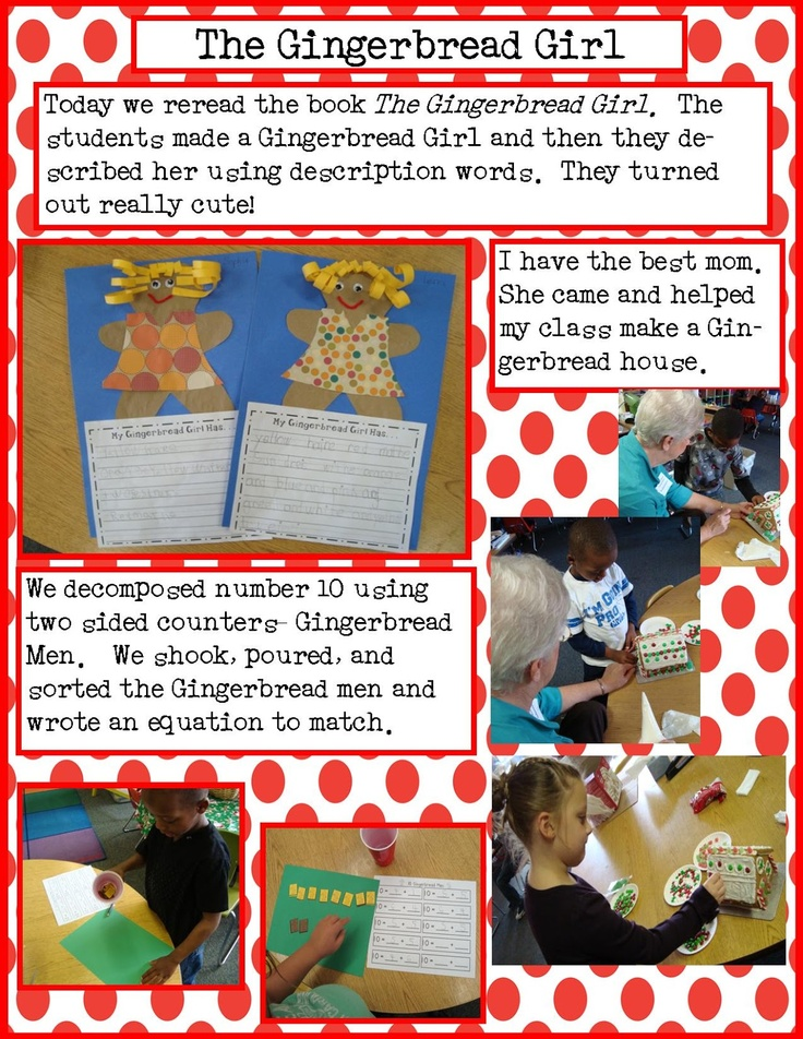 Golden Gang Kindergarten   Gingerbread theme   Pinterest   Gingerbread ...