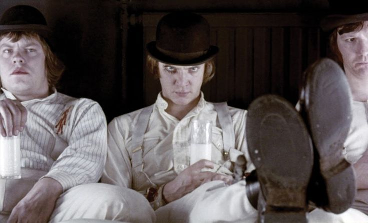 Clockwork Orange -There was me, that is Alex, and my three droogs,... Clockwork Orange -There was me, that is Alex, and my three droogs,...