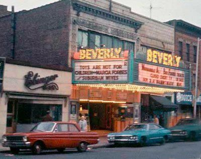 The Beverly, a small local theater in Brooklyn.