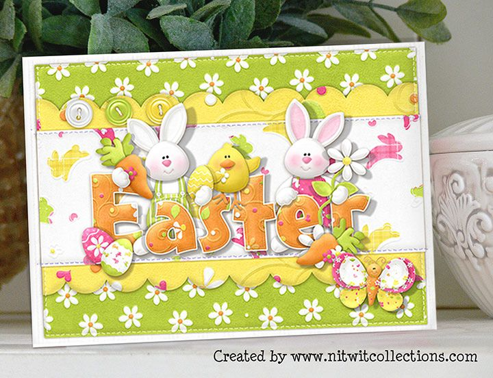 Egg-stra Special Easter Card by Mary Fran NWC - Cards and Paper Crafts at Splitcoaststampers