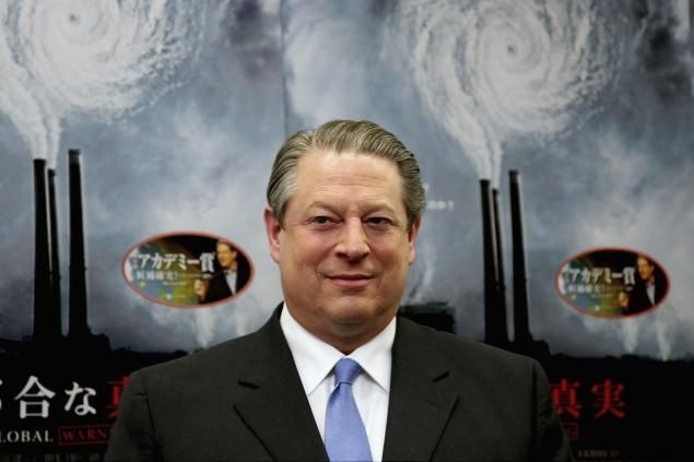 "Al Gore likens global warming deniers to slavery, apartheid perpetrators 'The ability of the raging deniers to stop progress is waning every single day,' said the environmental activist.  Gore may have an uphill climb in persuading the public global warming should be a top concern. Only 34% of Americans  believe global warming poses a ""serious threat,"" according to a Gallup poll from April."