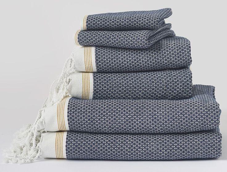 Towel Set in Alpine White $138