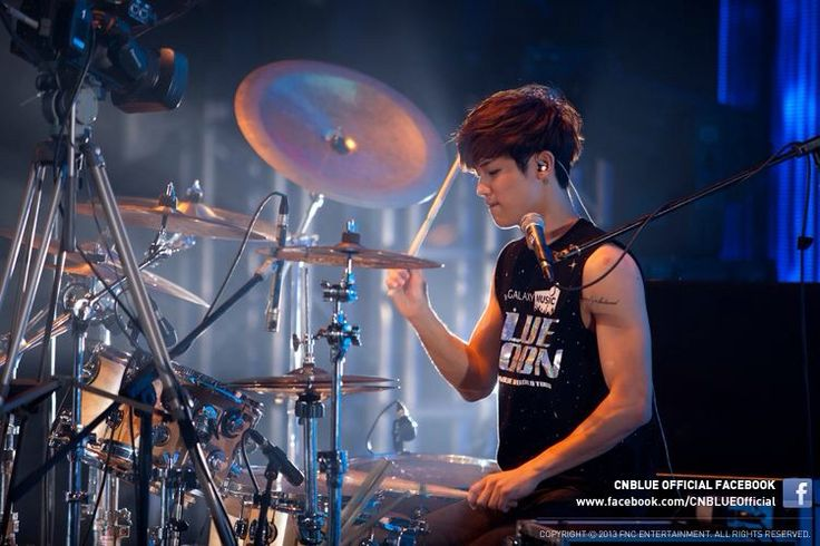 CN BLUE Kang Min Hyuk - Drummer