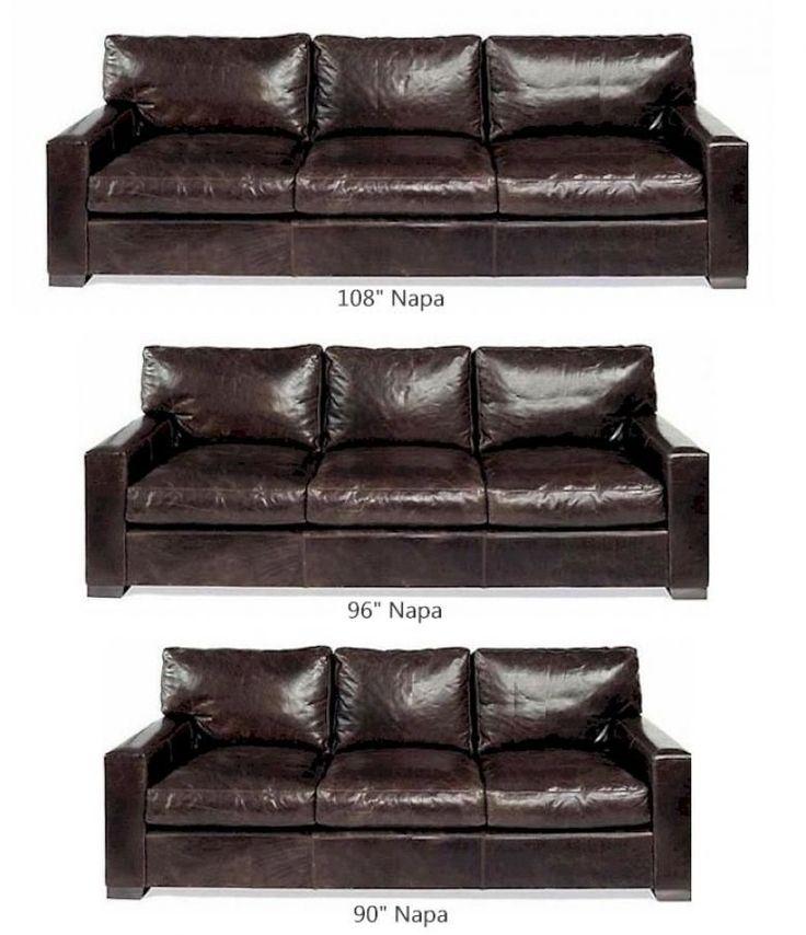 Napa Oversized Seating Leather Sofa Set