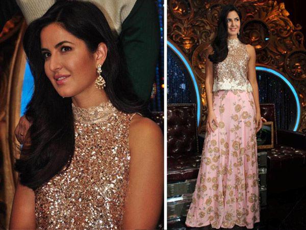Katrina Kaif Glitters In Manish Malhotra At Jhalak Dikhhla Jaa... Check it out...