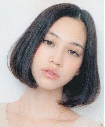 미즈하라키코 단발머리